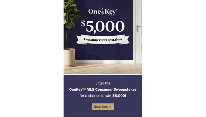 OneKey MLS Sweepstakes Pinterest 1000x1500